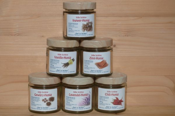 Sortenaufkleber für Honig