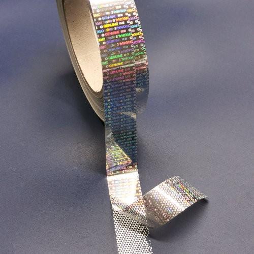 Hologramm-Klebeband >>>ORIGINAL - GENUINE>>> mit Sicherheitseffekt