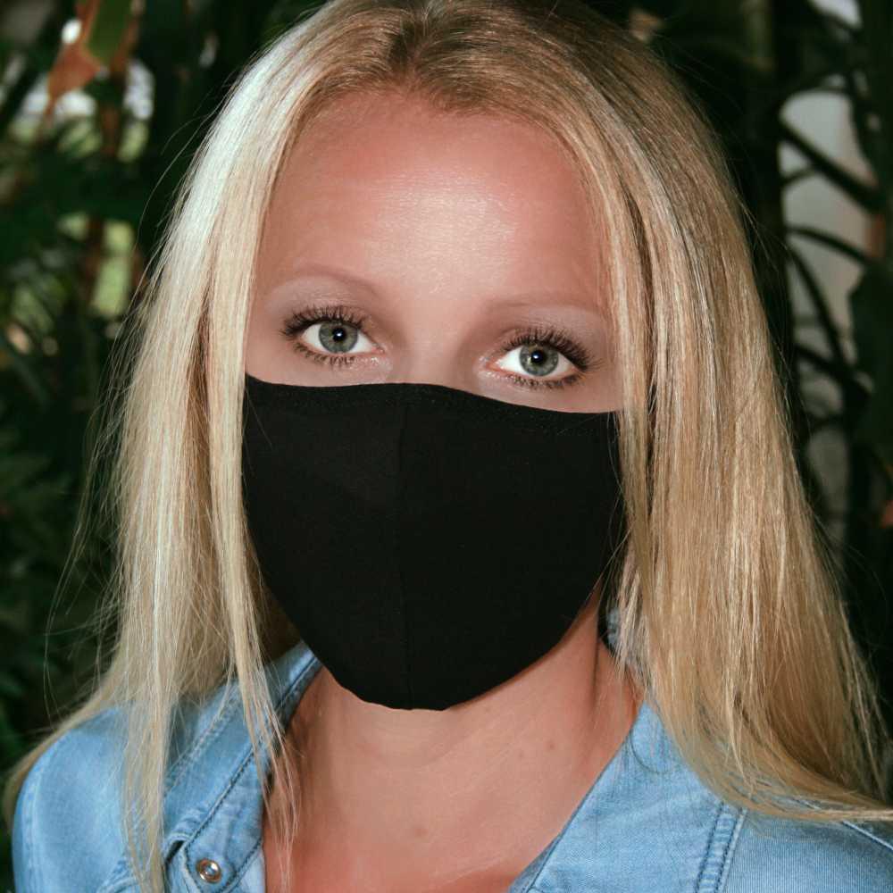 stoffmaske schwarz kaufen