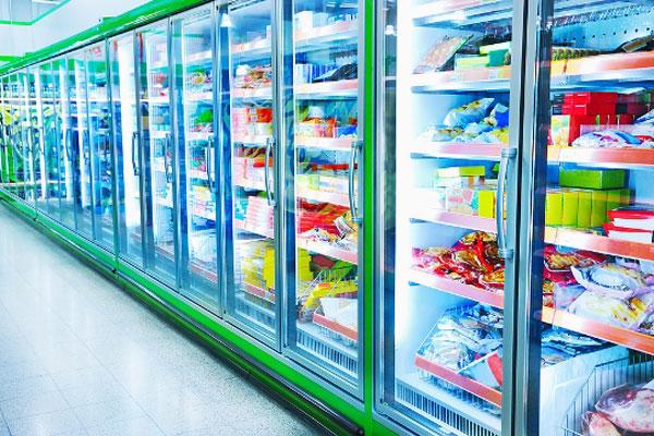 Aufkleber für Tiefkühlware