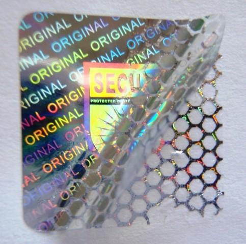 """Hologrammsiegel """"SECURE / ORIGINAL"""""""
