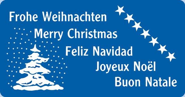 W10 - Frohe Weihnachten-Merry Christmas
