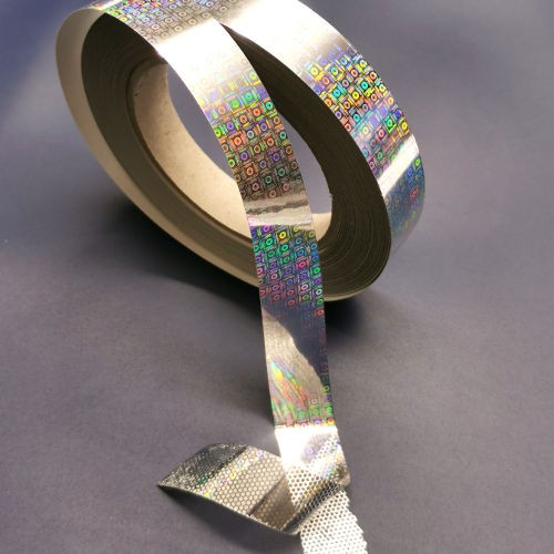 Hologramm-Klebeband mit Sicherheitseffekt
