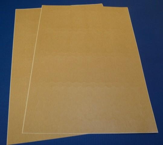 Packpapier-Aufkleber für Laserdrucker