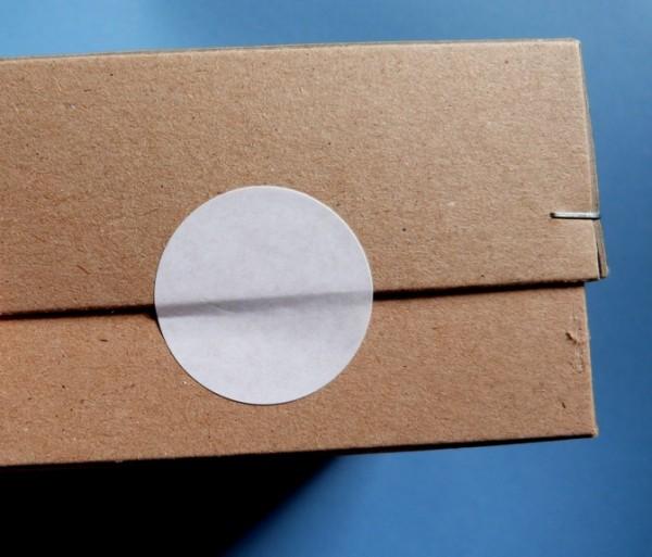 Verschluss-Punkte aus Superhaft-Papier