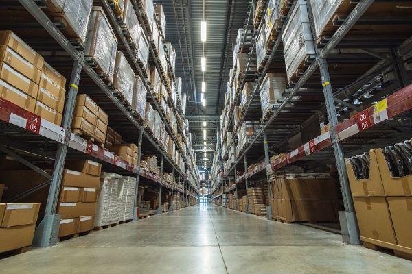 etiketten zur regalkennzeichnung, logistik, lager