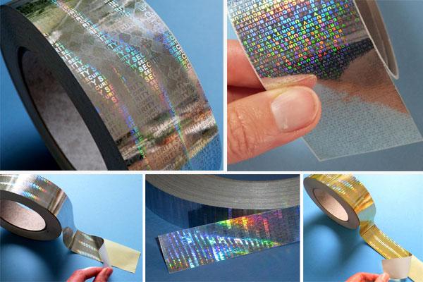 hologrammklebebänder
