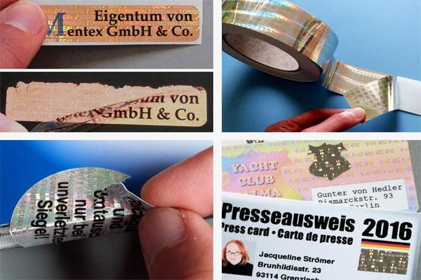 Hologramm als Kopierschutz
