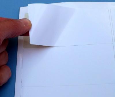Papier, weiß-glanz - permanent - SPEZIAL - für hochauflösende Ausdrucke, auf A4-Bogen