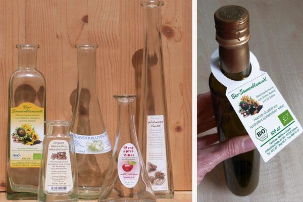 Flaschenaufkleber