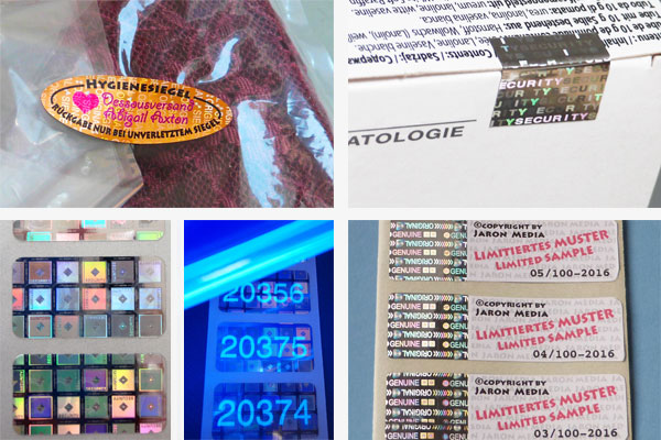 hologrammlabels pharma