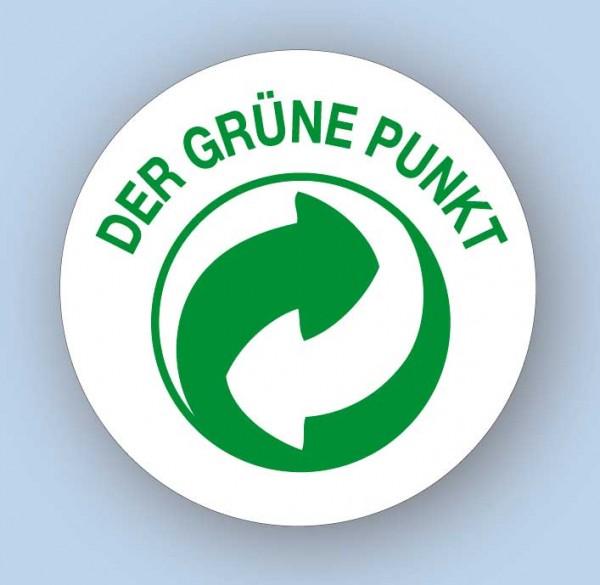 Der Grüne Punkt - Papier, rund 19 mm