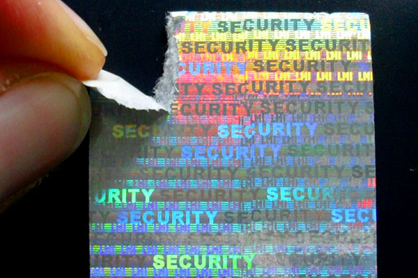 Siegel Hologramm-Papier SECURITY