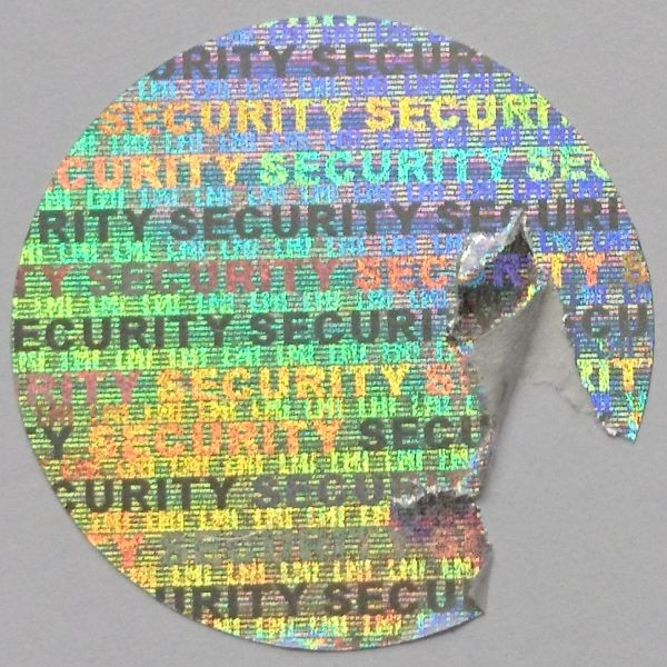 "Siegel - Hologramm-Papier ""SECURITY"""