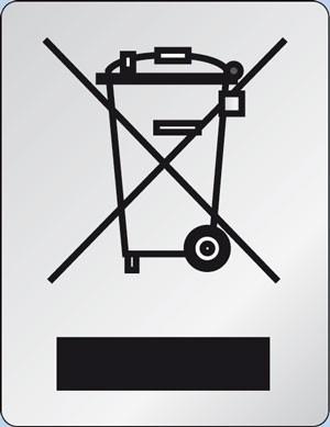 R139-WEEE, Polyesterfolie silber-matt, 10x13mm