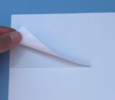 Superhaft-Papier - auf A4-Bogen