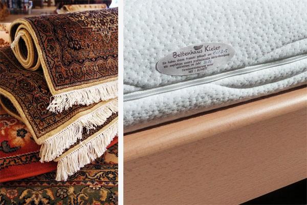 Etiketten für Matratzen, Teppiche - stark haftend