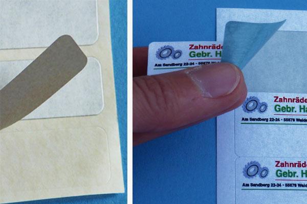 A4 Etiketten für Laserdrucker zum überkleben