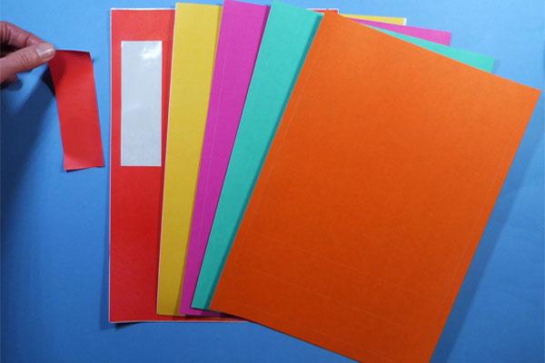 Farbige A4 Bogen