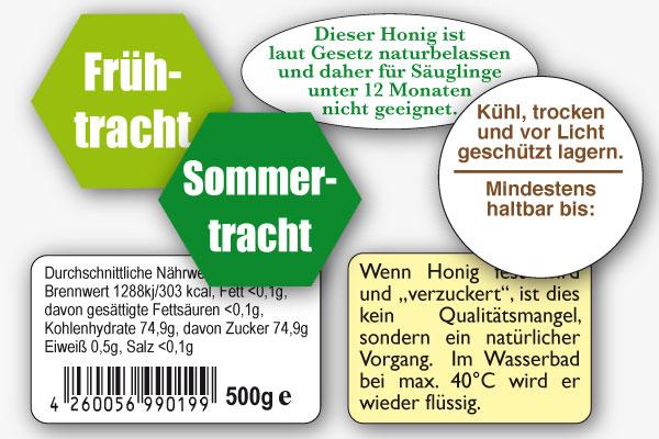 produktkennzeichnung honig