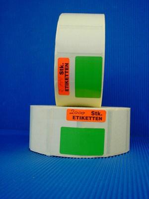 Papieretiketten, beige oder grün