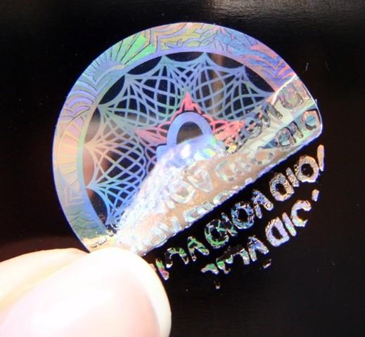"Hologrammsiegel ""ORIGINAL"""