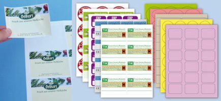 a4 bogen etiketten vorgedruckt