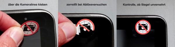 fotoverbot siegel etiketten
