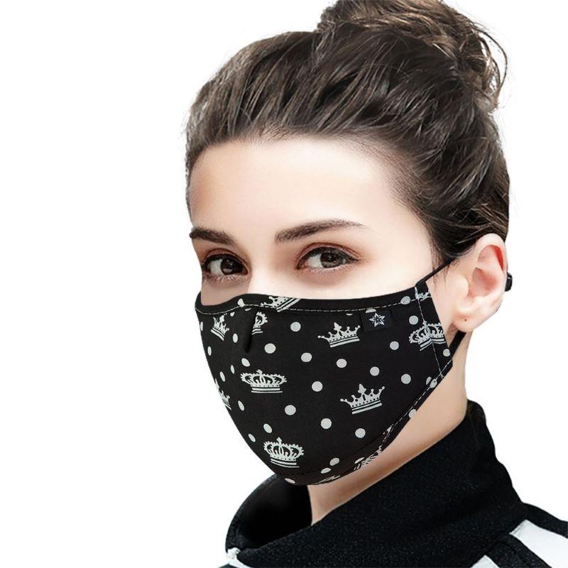 mund-nasenmaske schwarz