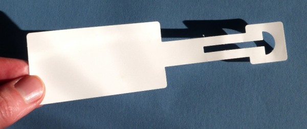 Anhänge-Etiketten aus Polyester