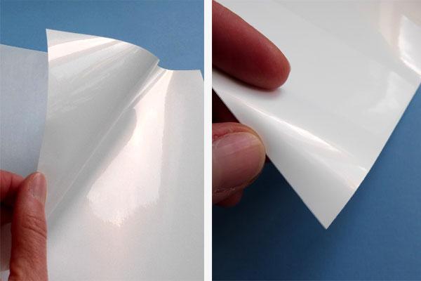 Inkjet-PP-Folie, hochglänzend auf A4 Bogen