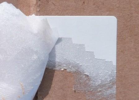 Polystyrol, weiß - große Formatauswahl