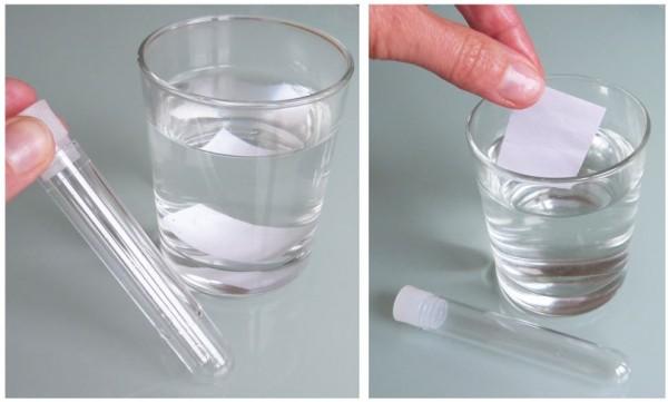 Papier, wasserlöslicher Klebstoff, weiß-matt - Format: 50x40mm