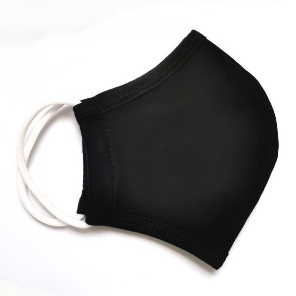 Mund-Nasenmaske, schwarz, 5 Stück