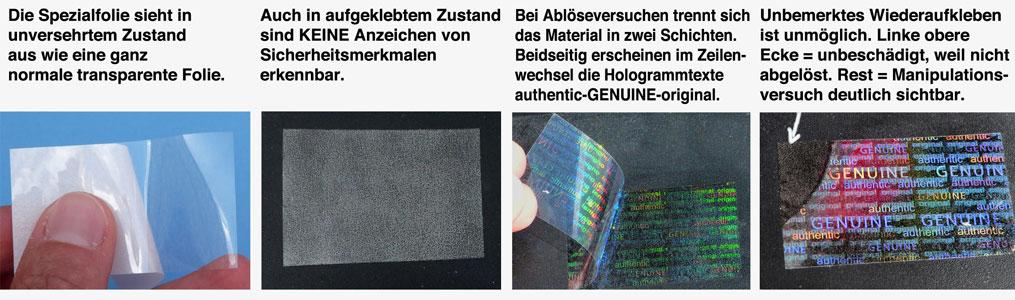 Invers-Hologramm, Spezial-Hologramm