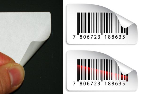 A4 Bogen Inkjetdrucker ablösbarer Klebstoff