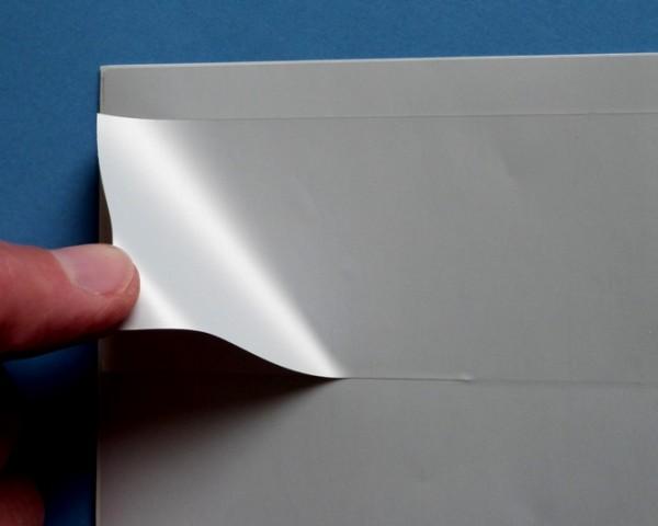 Silber matte Polyesterfolie für Laserdrucker